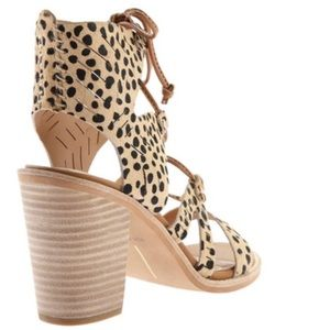 Dolce Vita Luci Ghillie Stacked Heel Sandals